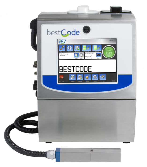BestCode-model-87-high-speed-date-coder-industrial-inkjet-system